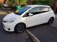 Toyota yaris white 2012