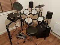 Roland TD-12 Drum Kit & Mapex hardware - Delivery to Hull, Leeds, Sheffield & Manchester