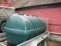 Balmoral 2500 litre oil tank , free to collector