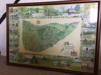 Exquisite Framed Print of Chesham Bois