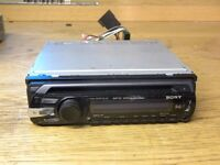 SONY cdx-gt35u. car radio stereo cd plyer. mp3/aac/usb/aux in
