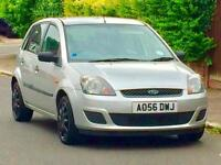 2006 FORD FIESTA STYLE 1.2 LOW MILEAGE NEW CLUTCH FULL YEARS 3 MONTHS WARRANTY