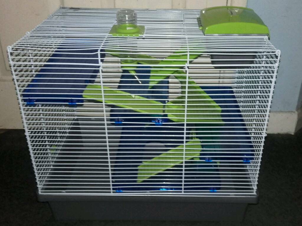 Pico blue Green hamster cage