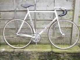 Pete Matthews Track bike reynolds 531 70s 80s retro - fixed gear wheel velodrome