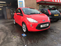 Ford KA 1.2 Petrol Manual 3 Door Hatchback 2011 Red Stunning Low Mileage Car