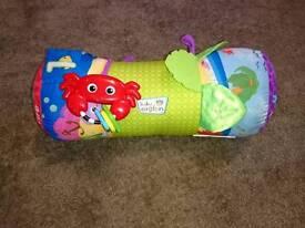 Baby Einstein tummy time cushion roll interactive toy