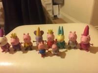 Various peppa pig figures -sold separately