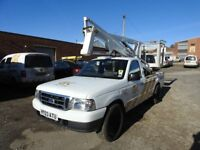 Ford Ranger Pick up Lifter, Cherry Picker, MEWP, Aerial Platform, Sky High 1100