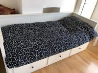 Convertible single to double bed