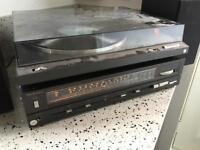 Technics Turntable Amp vintage hi-fi