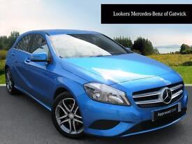 Mercedes-Benz A Class A200 CDI BLUEEFFICIENCY SPORT (blue) 2014-09-25
