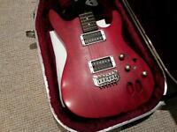 Ibanez SA320X electric guitar and Marshall Amplifier