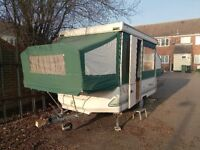 Conway cardinal clubman hardtop trailer tent