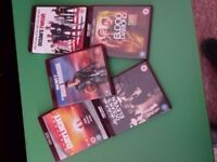 HD DVD SELECTION OF FILMS - OCEAN'S ELEVEN * OCEAN'S TWELVE * DAYLIGHT * BLOOD DIAMOND * MAD MAX 2