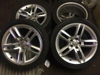 Audi A5 Alloys With Tyres