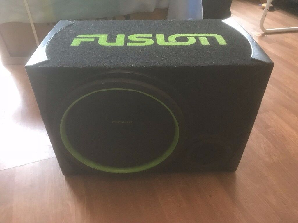 "Fusion 12"" Sub 1000W and Mutant NW280-SP AMP"