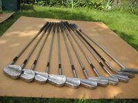 George Nicoll Golf Clubs & bag