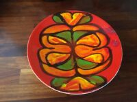 Poole Pottery Vintage Delphis Design 2 Dishes