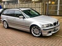 2003 BMW 330 D AUTOMATIC M SPORT TOURING FACELIFT 1 YEAR MOT