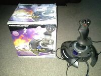 Boxed gamecube thrustmaster flight stick for sale