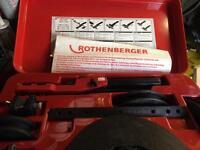 Rothernberger pipe bender