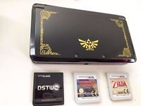 3DS Limited Edition + 2 3DS Games