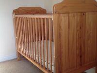 Mothercare Antique Pine Cot