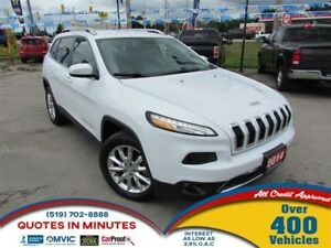 2014 Jeep Cherokee LIMITED | LEATHER | NAV | BACKUP CAM