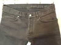 COS JEANS AS NEW ONLY !! 10 SIZE W31 L 32 ELASTICIZED SKINNY STRETCH