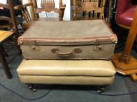 Vintage pre-1950's suitcase