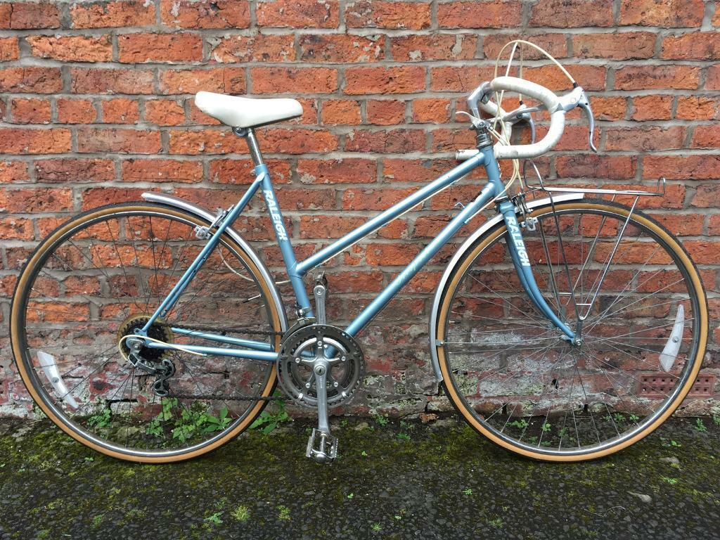 Raleigh Impulse Ladies Vintage Retro Road Bike 20 Inch Frame 10 ...