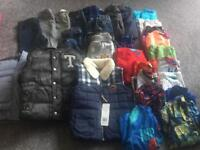 Age 3-4 and 4-5 Boys Clothes Bundle