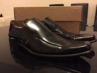 Paul Smith London hand crafted Black shoes size 7, RRP £285