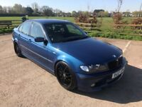 2002 E46 BMW 330D SPORT AUTO* LOW MILES* 19'' ALLOYS* KONI COILOVERS* LEATHER* AIRCON* IMMACULATE*