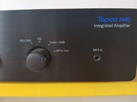 Cambridge Audio TOPAZ AM5 Integrated Amplifier