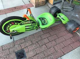 Green machine outdoor toy
