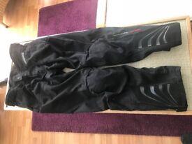 Rev'it Airvent Textile Trousers - Black - size XXL (Motorbike)