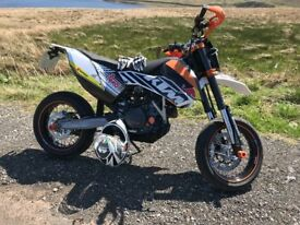 KTM smc 690. Low Mileage. Lots of powerpart extras.