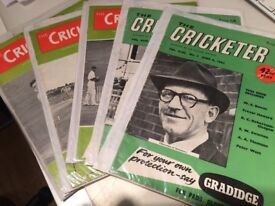 The Cricketer magazines