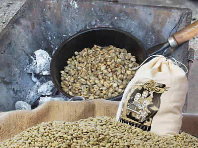 3lb Grd 1 Twice Picked Premium Spec Half-Caff Espresso Blend Green Coffee Beans