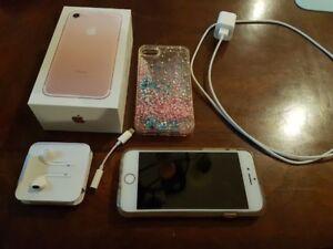 Iphone 7 rose 128 g