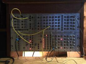doepfer A-100 Modular Eurorack Synthesiser system rack mount