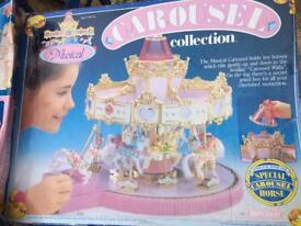 Vintage matchbox carousel