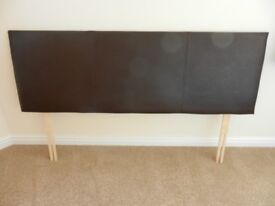 King size headboard with all fittings