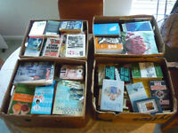 job lot of 200 mixed titled books (1970's to present); Acceptable to LN condition