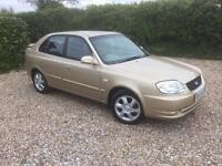 Hyundai Accent Automatic very low mileage with full service history