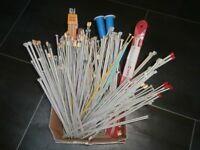 Knitting needles, huge collection