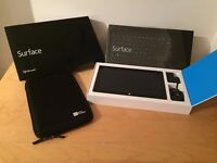 """Windows Surface 2 tablet 32GB 10.6"""" Touch Screen, Touch Keyboard and Case."""
