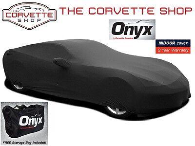 Corvette Onyx Car Cover C7 2014-2017 Lycra Spandex Indoor Lightweight 52267