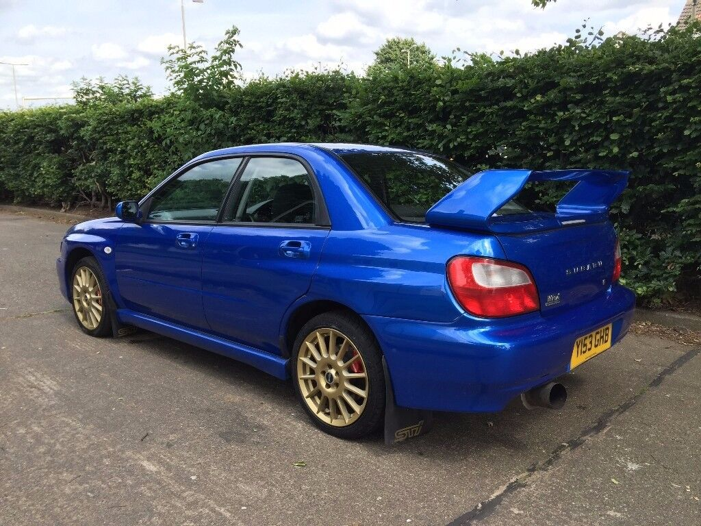subaru impreza wrx 2001 blue in leicester leicestershire gumtree. Black Bedroom Furniture Sets. Home Design Ideas